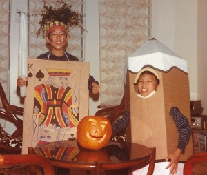 Jack and Holman Wang - Halloween Costumes
