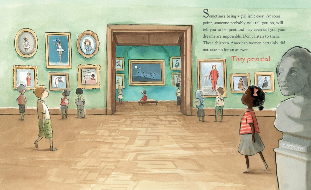 She Persisted - Flowering Minds Book Review - opening spread